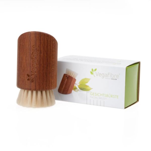 Vegane Gesichtsbürste mit extra feinen Vegafibre® Filamenten