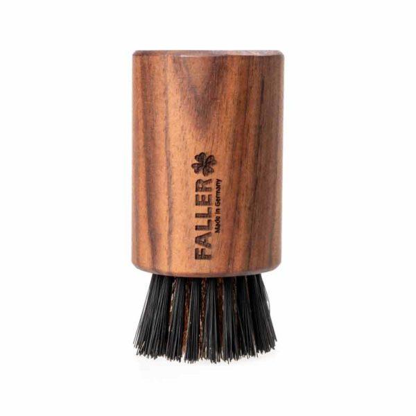Ionic Brush | Gesichtsbürste | Nussbaum | Bionifil | Bronzedraht | 100% vegan