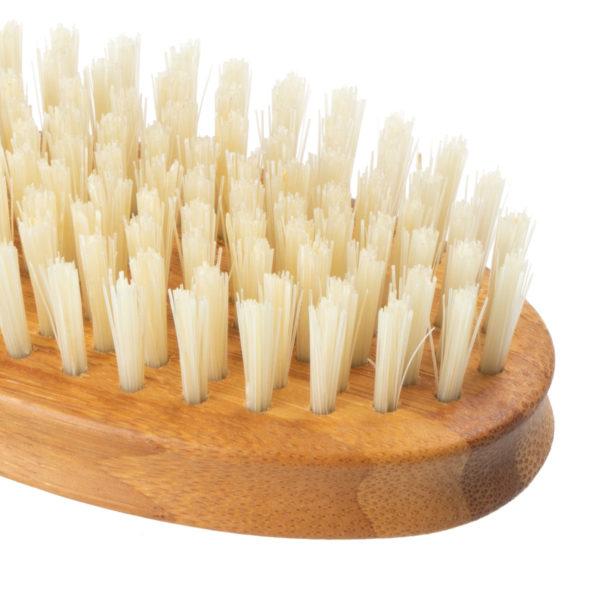 Handbürste Bambus mit Wildschweinborsten