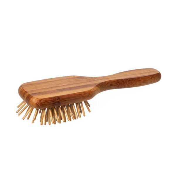 Mini Haarbürste für unterwegs - Reisebürste - Taschenbürste