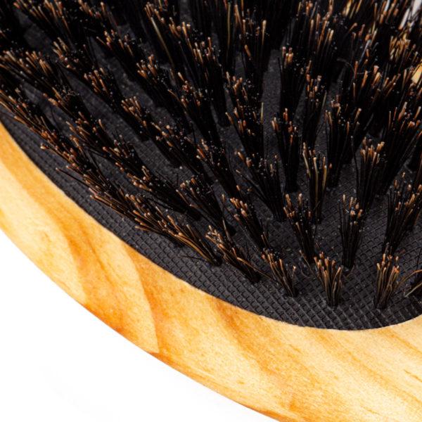 Haarbürste Kiefernholz Wildschweinborsten