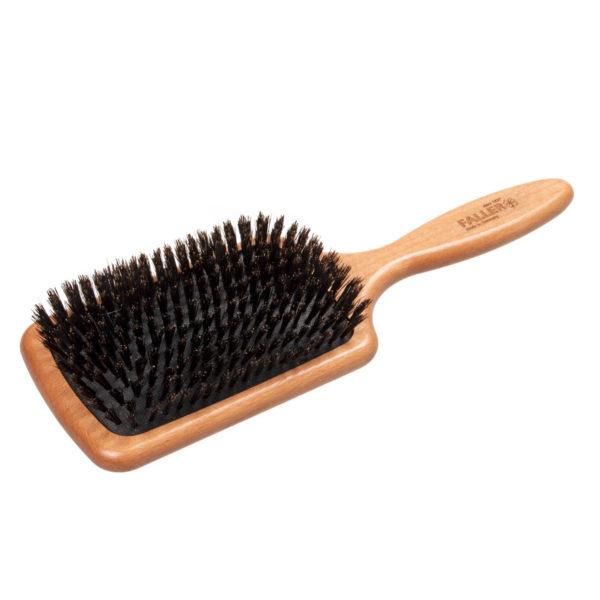 Paddle Haarbürste aus gedämpftem Buchenholz und Wildschweinborsten