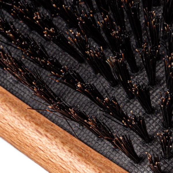 Paddle Haarbürste Buchenholz Wildschweinborsten