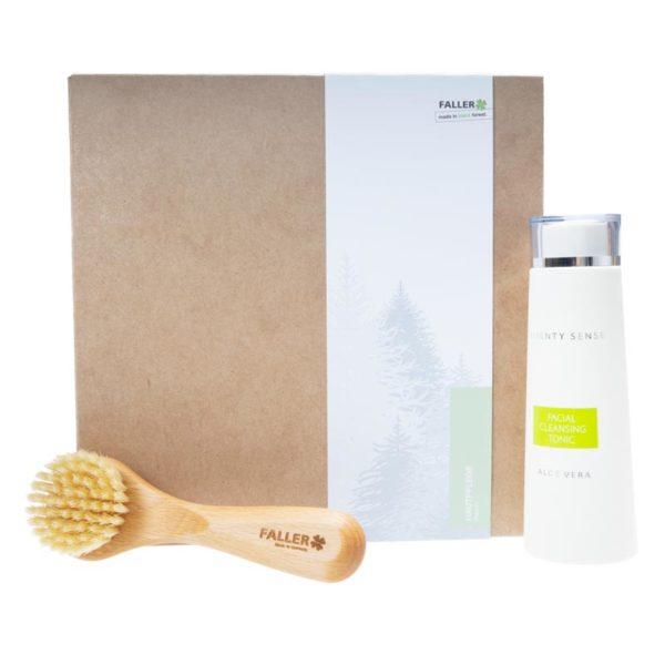 Pflegeset - Gesichtsbürste und Reinigungswasser