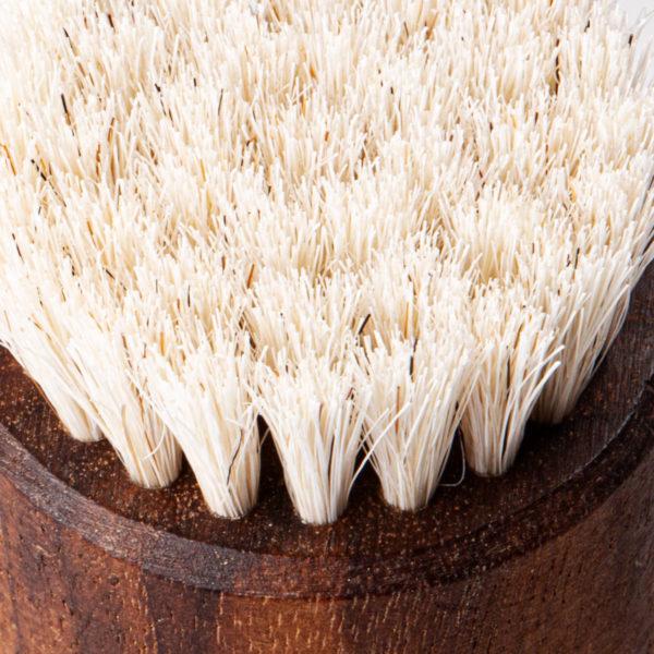 FALLERmen Set Gesichtsbürste aus Walnussholz mit Ziegenhaare