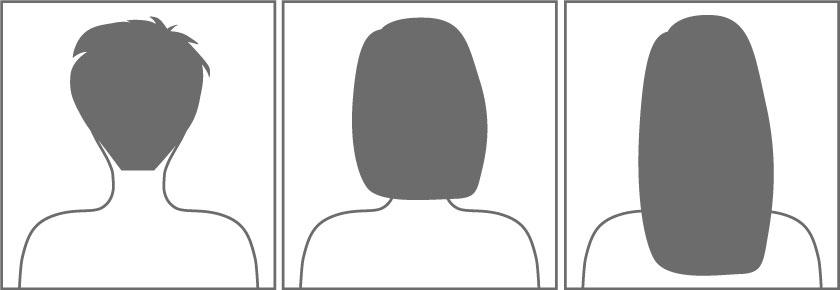 alle Haarlängen