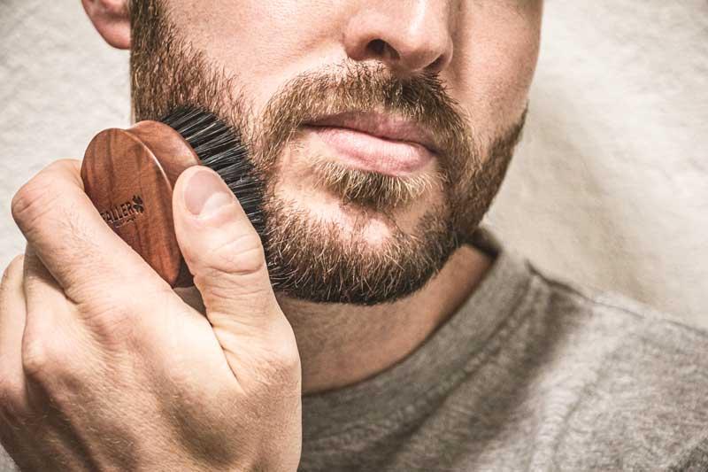FALLER men | Bürsten für Männer | Bartbürste